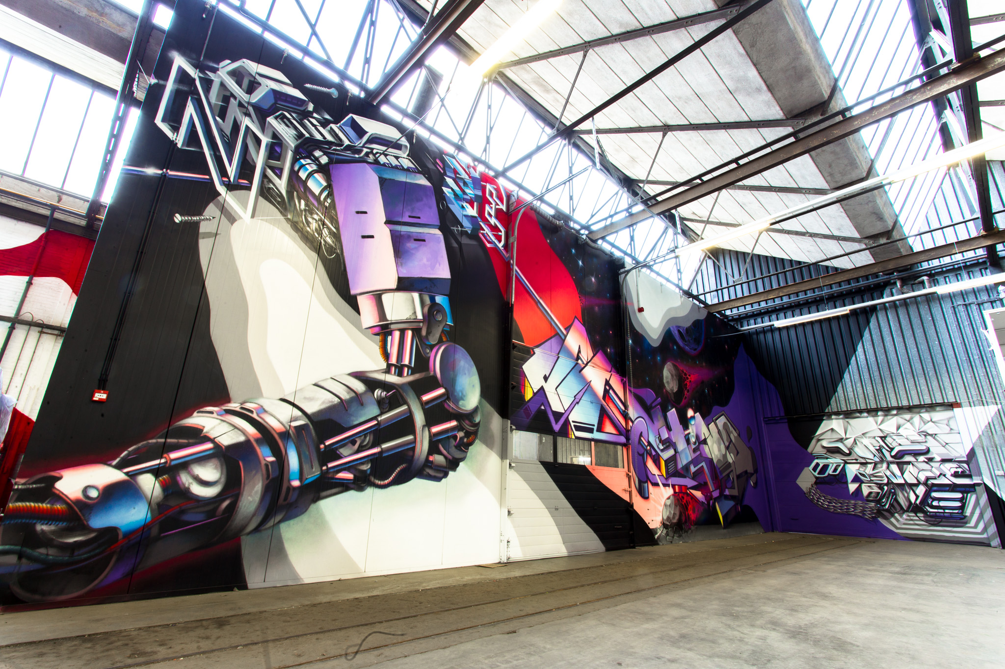 A work by Does - Warehouse eygelshoven the netherlands 2