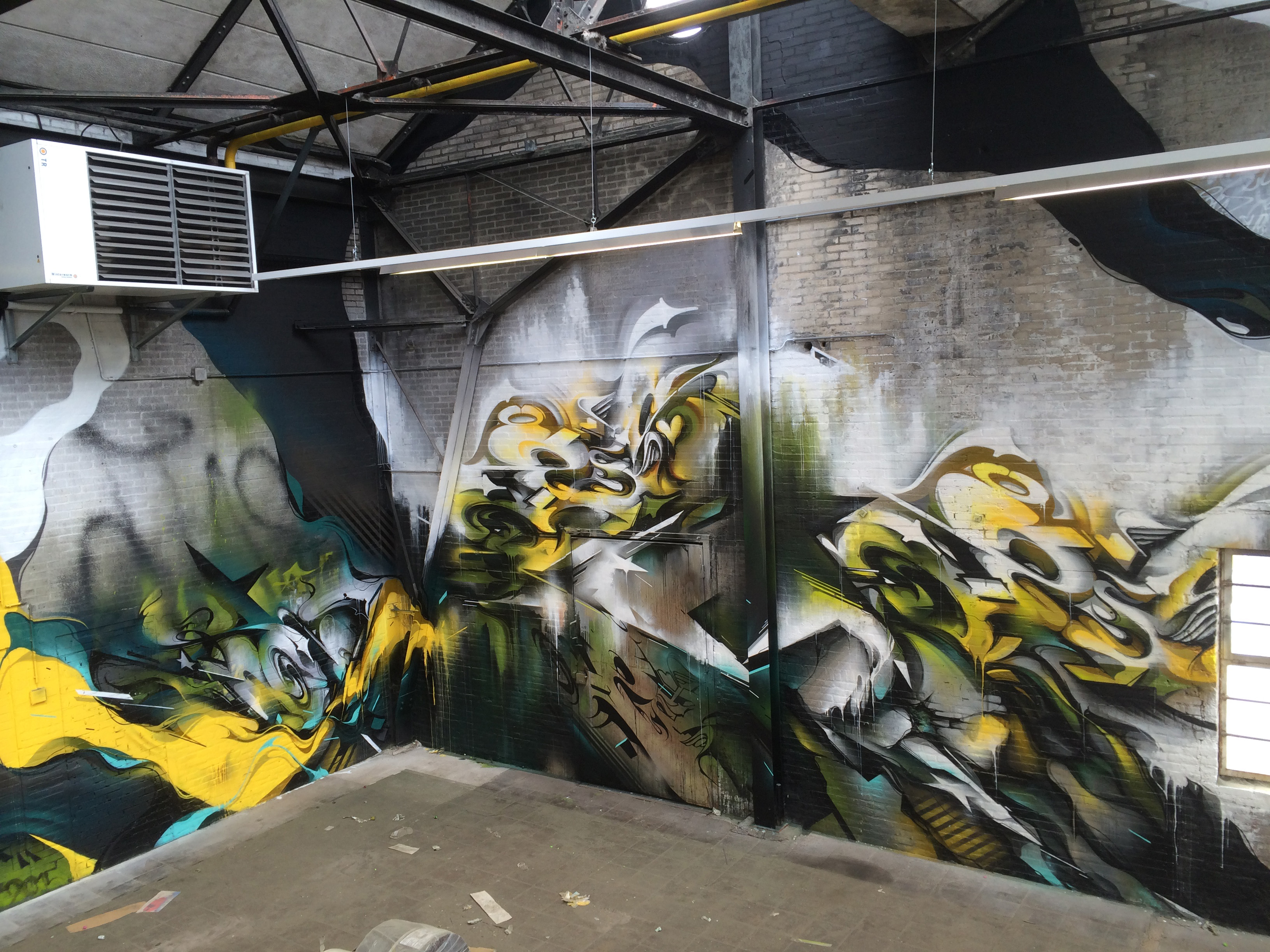 A work by Does - Warehouse eygelshoven the netherlands 3