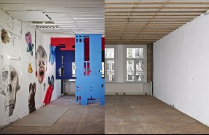 Clashwall amsterdam mural floor 2