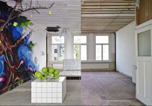 Clashwall amsterdam mural floor 3