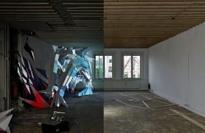 Clashwall amsterdam mural floor 4