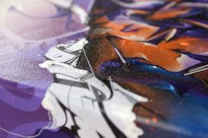 Migraine canvas detail 3