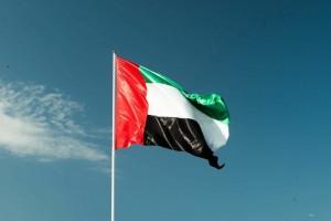 Dubai uae flag ironlak family