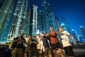 Dubai uae ironlak family selina miles 2