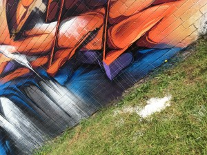 Toowoomba australia detail mural 2