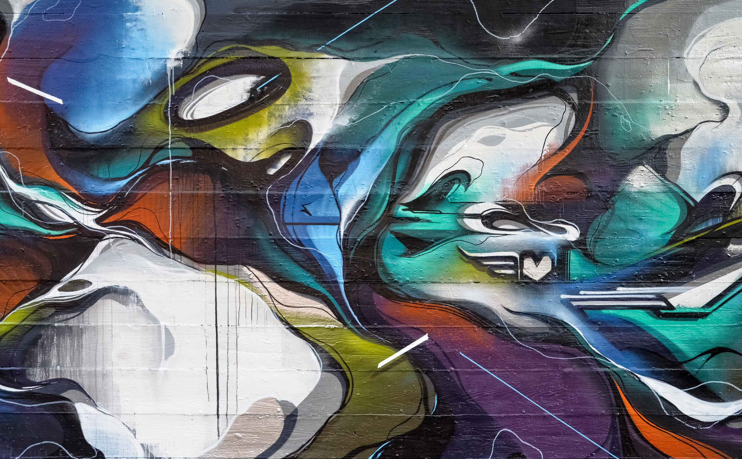 A work by Does - Chicago usa mural detail 4