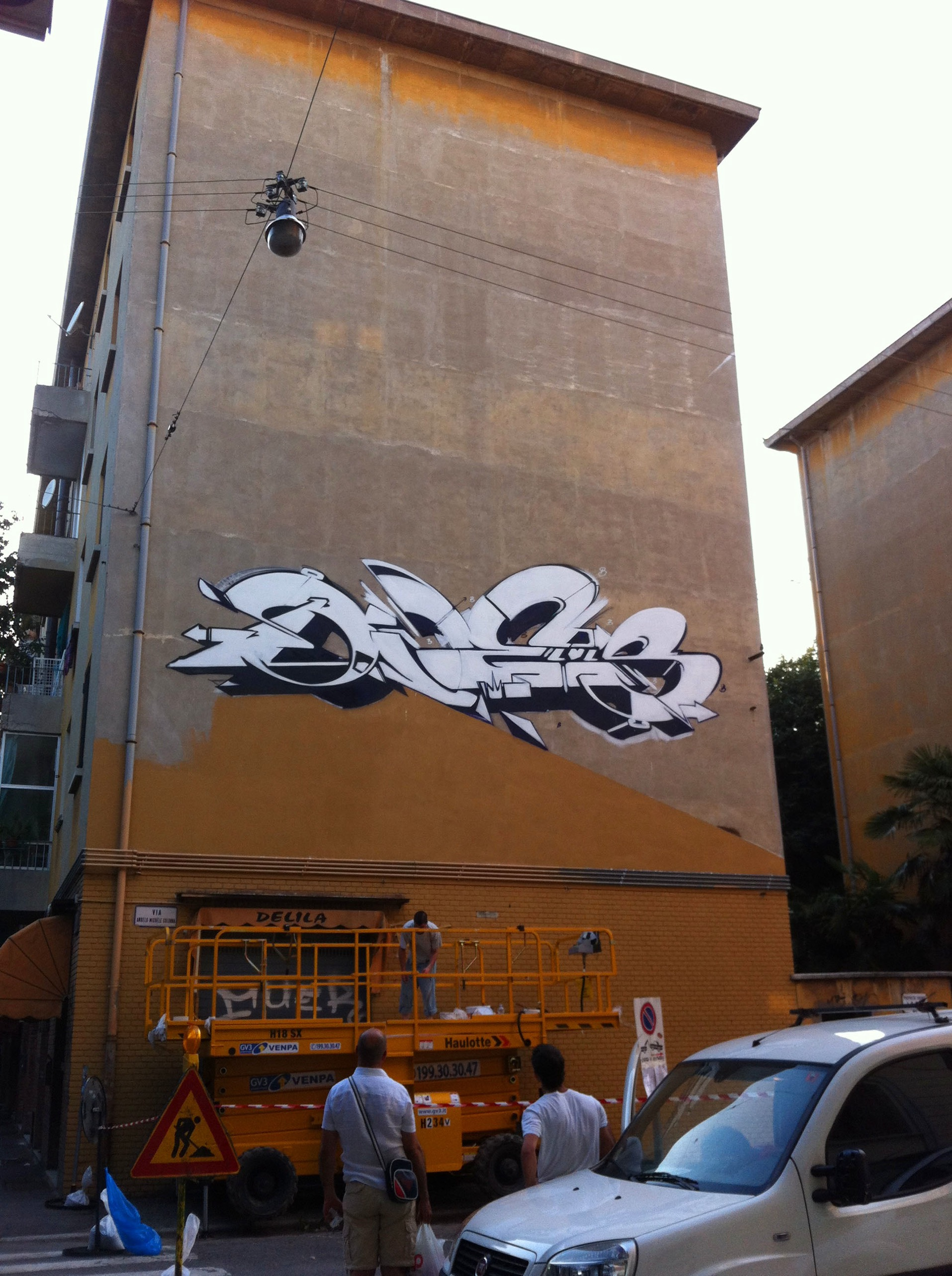 A work by Does - Frontier bologna italy detail 7