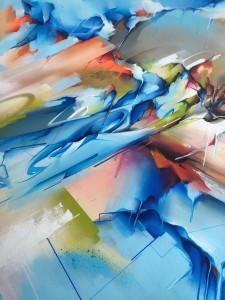 Memory lane canvas detail 3