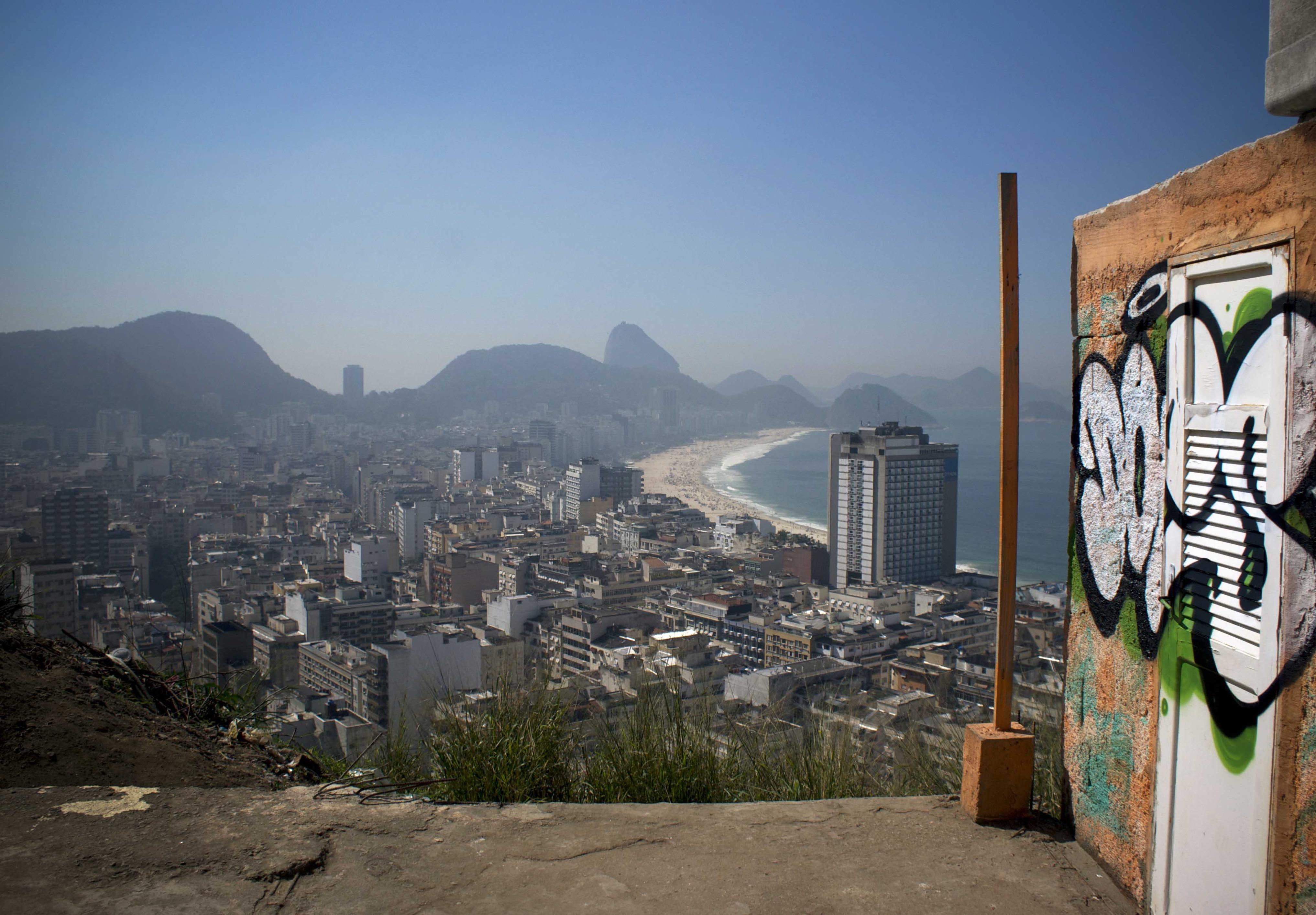 A work by Does - Does favela copacabana rio de Janeiro brazil 2013 1