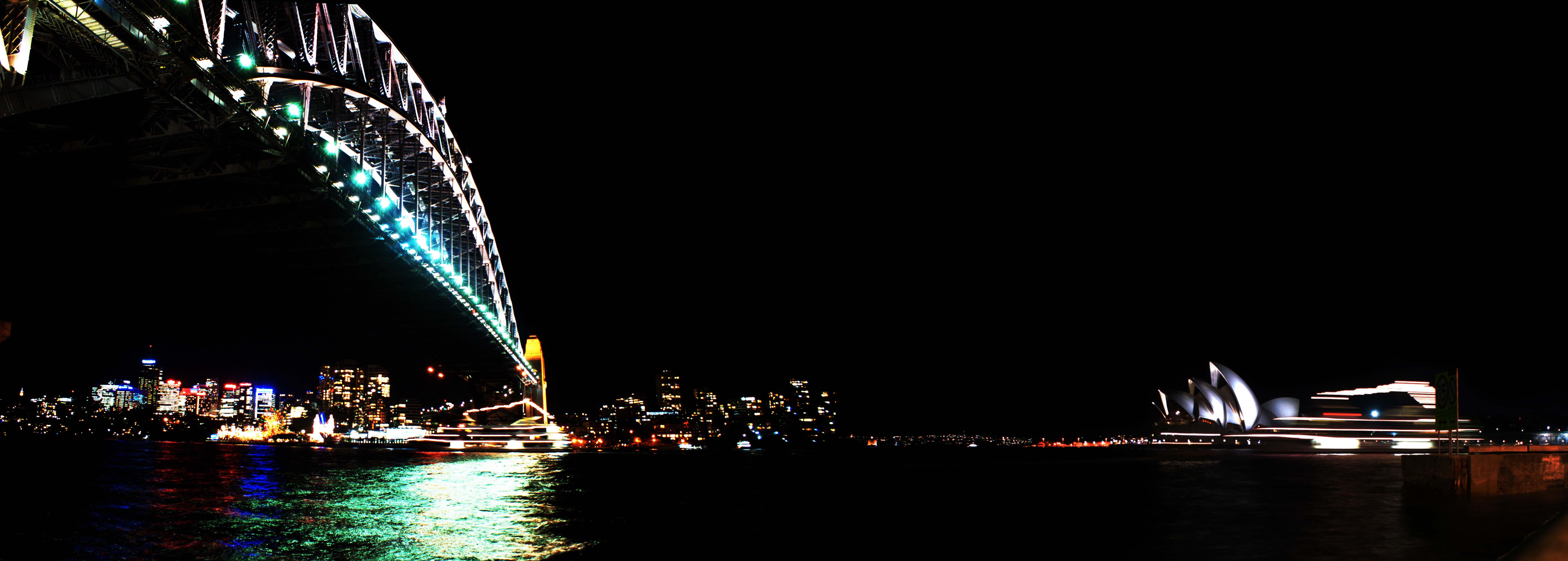 A work by Does - Sydney australia skyline