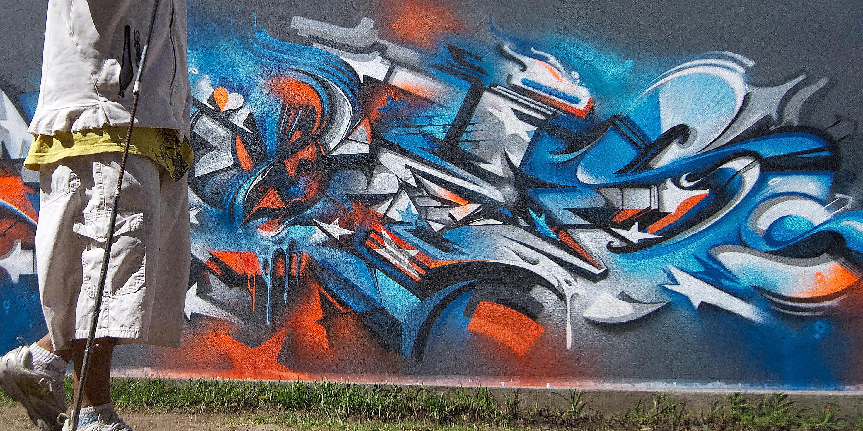 A work by Does - Quito equador
