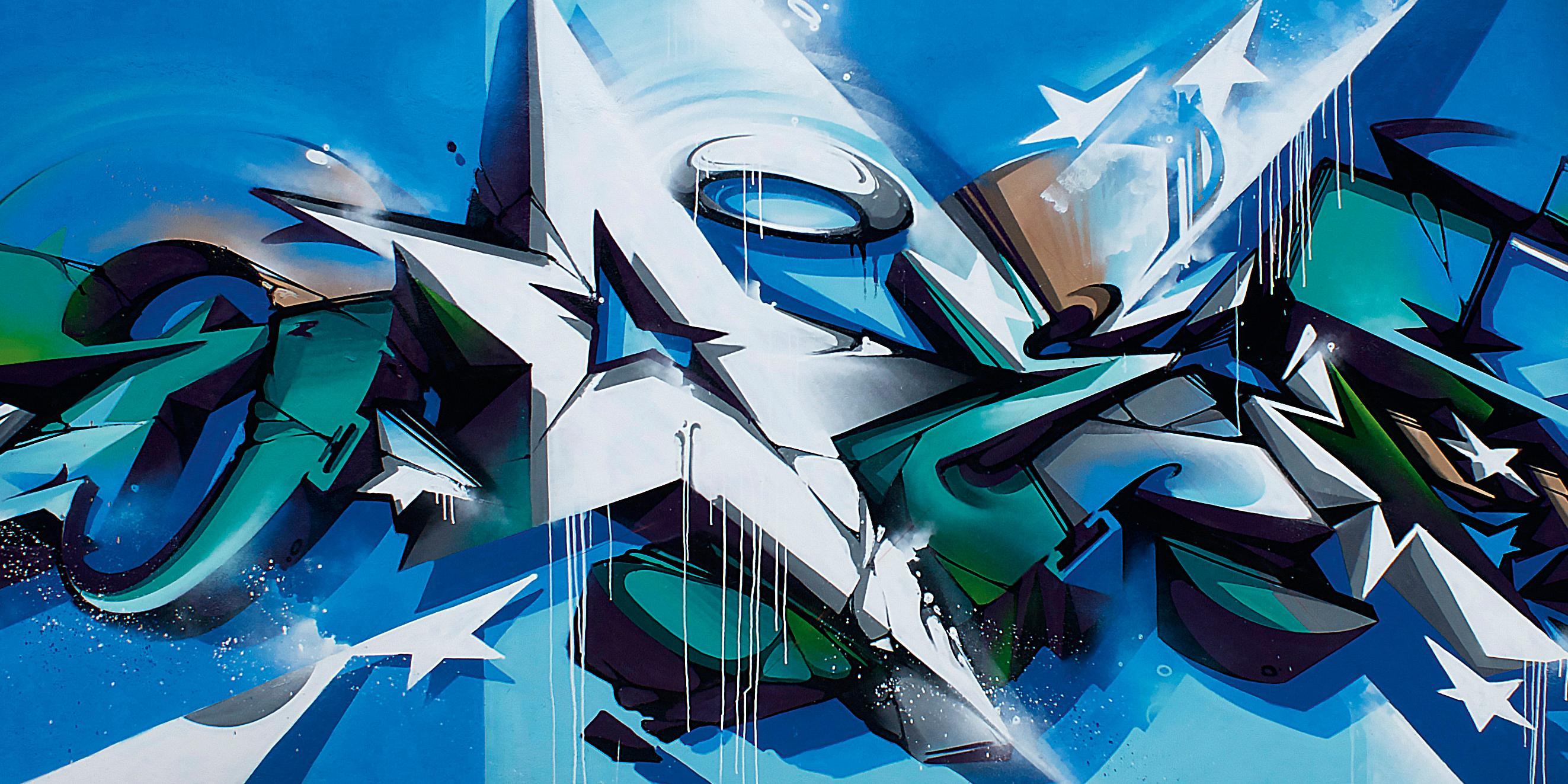 A work by Does - Rio de Janeiro brazil mural