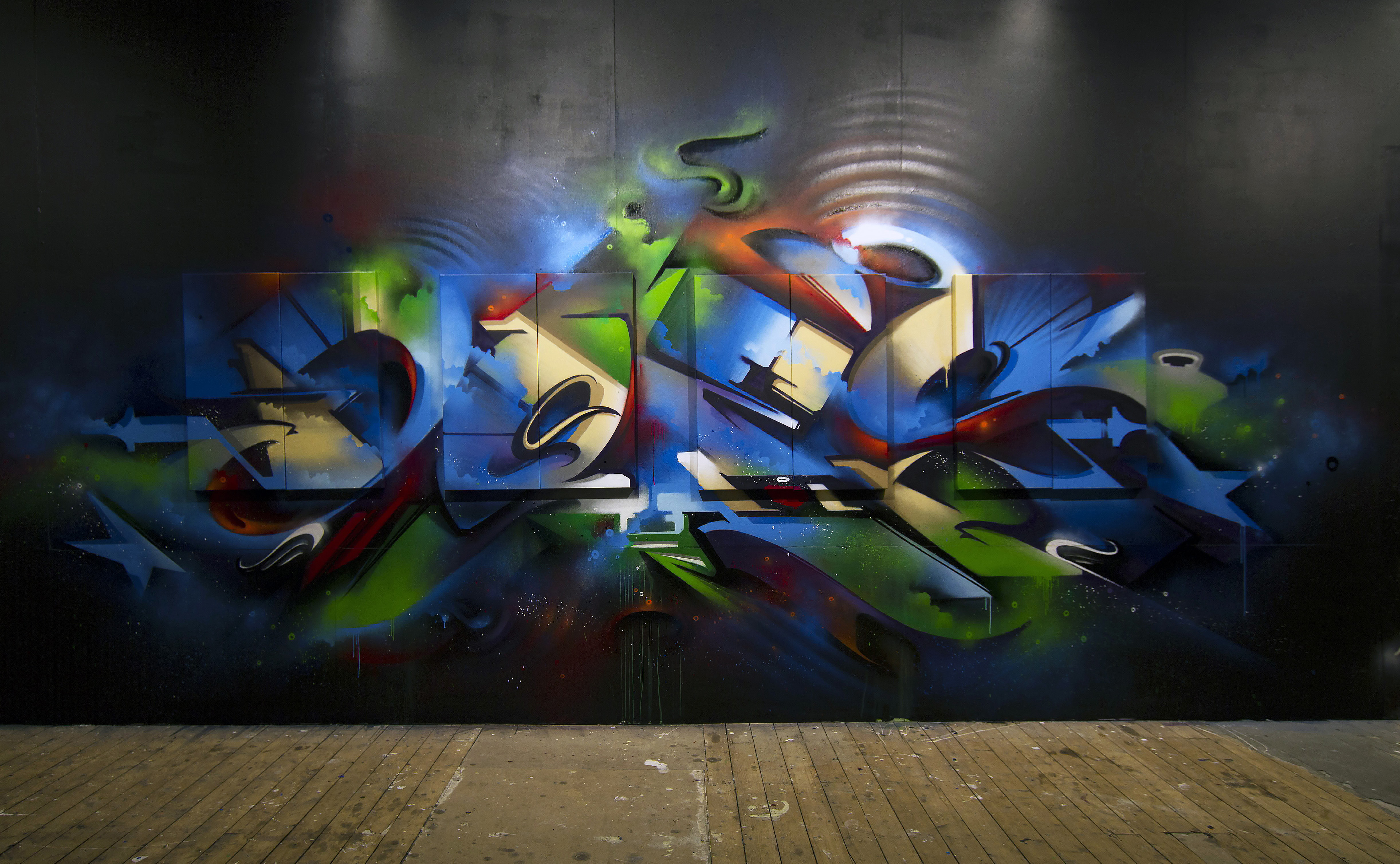 A work by Does - Sydney australia endless perspectives