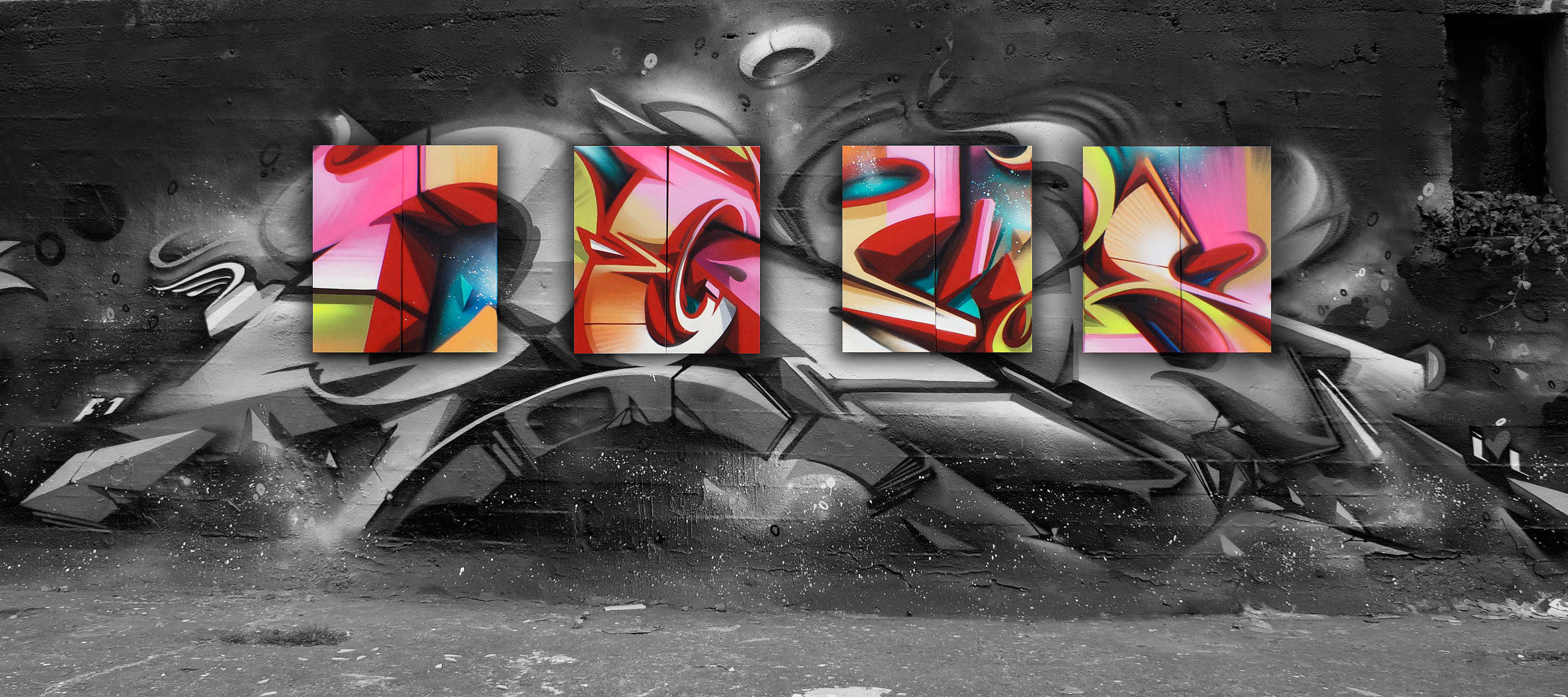 A work by Does - Endless perspectives amsterdam the netherlands