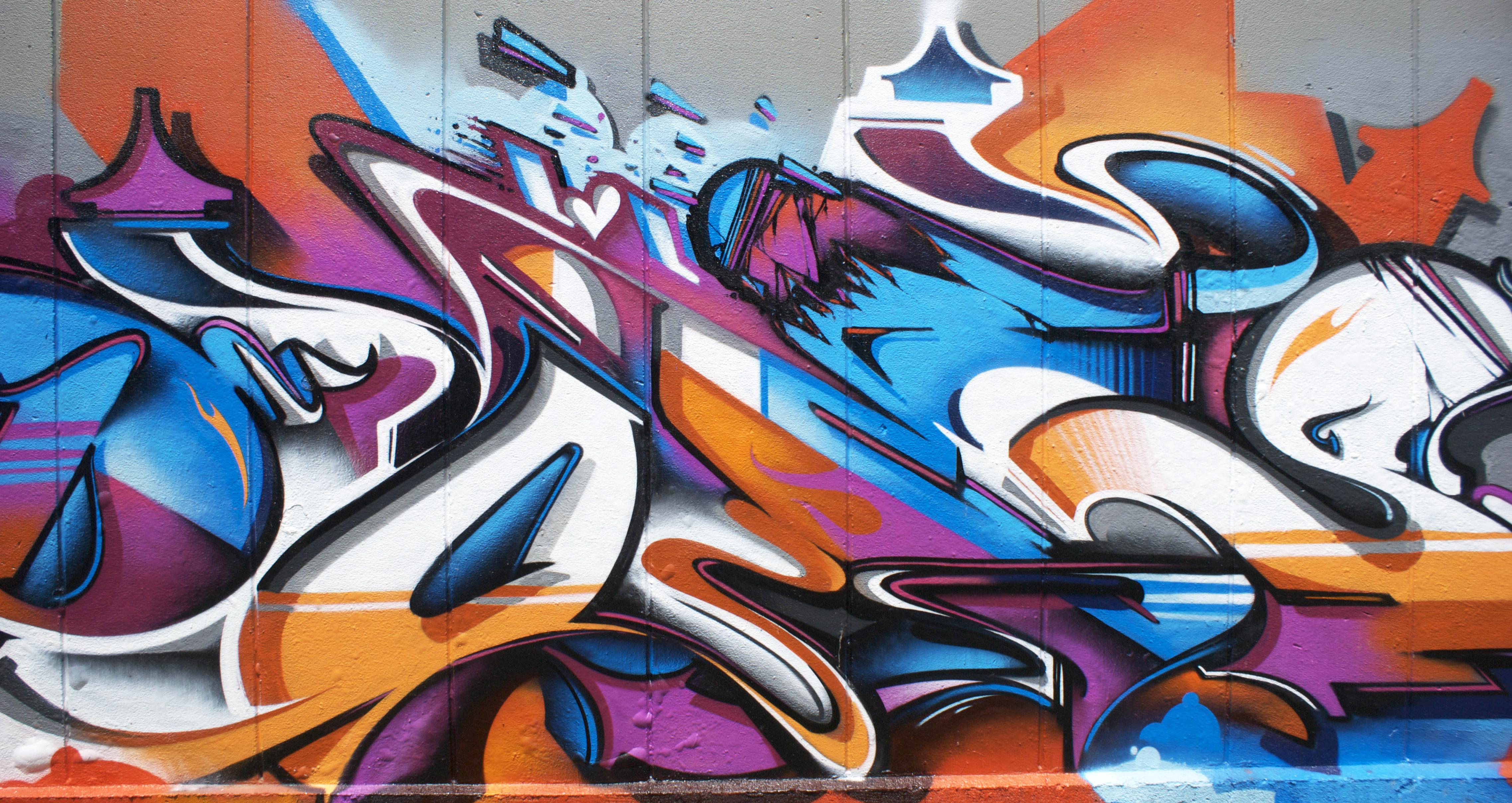 A work by Does - Byron bay australia mural detail 2