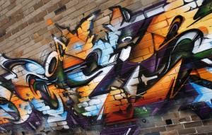 Sydney australia mural detail 1