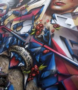 Munstergeleen the netherlands mural detail 1