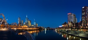 Skyline melbourne australia 2