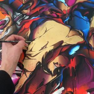 Tempest canvas detail 2