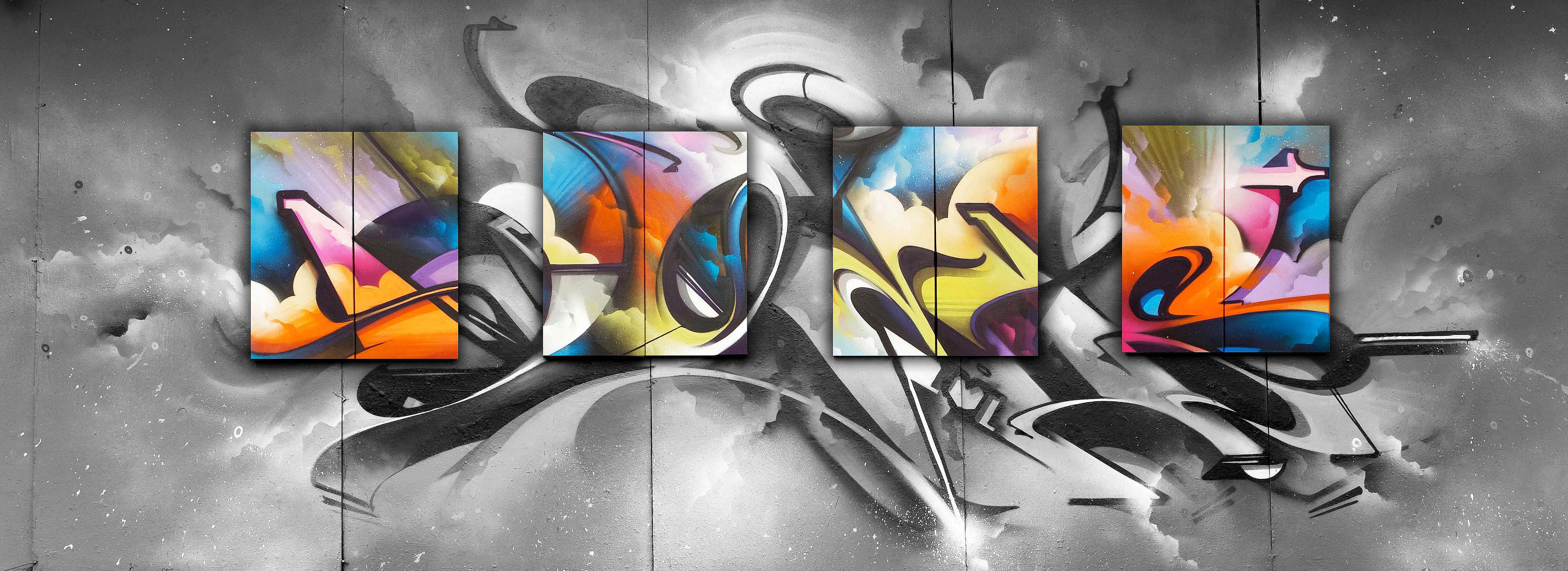 A work by Does - Endless perspectives london uk