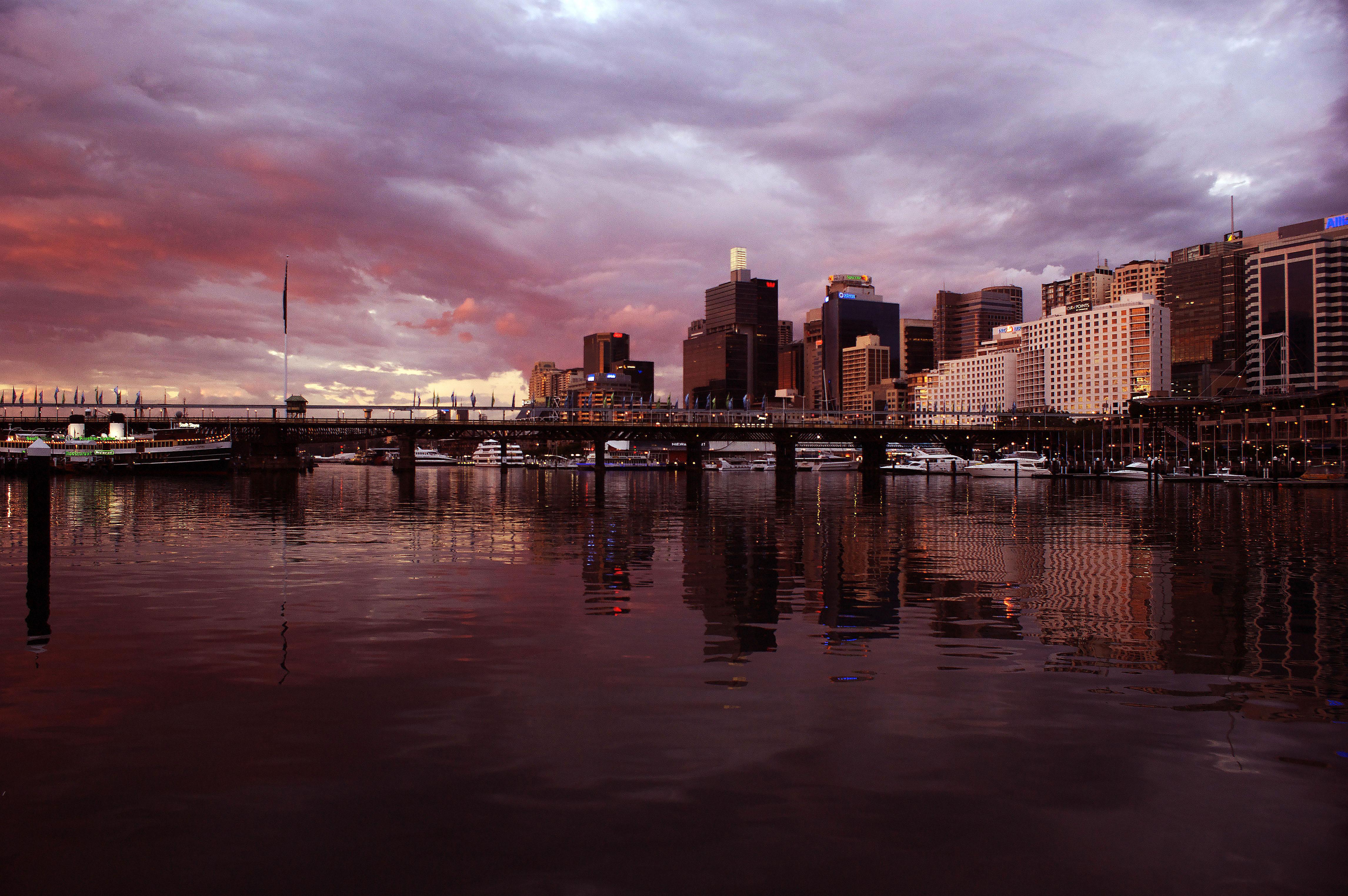 A work by Does - Skyline Sydney australia