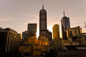 Skyline melbourne australia 1