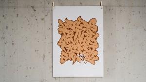 Print loveletters alphabet