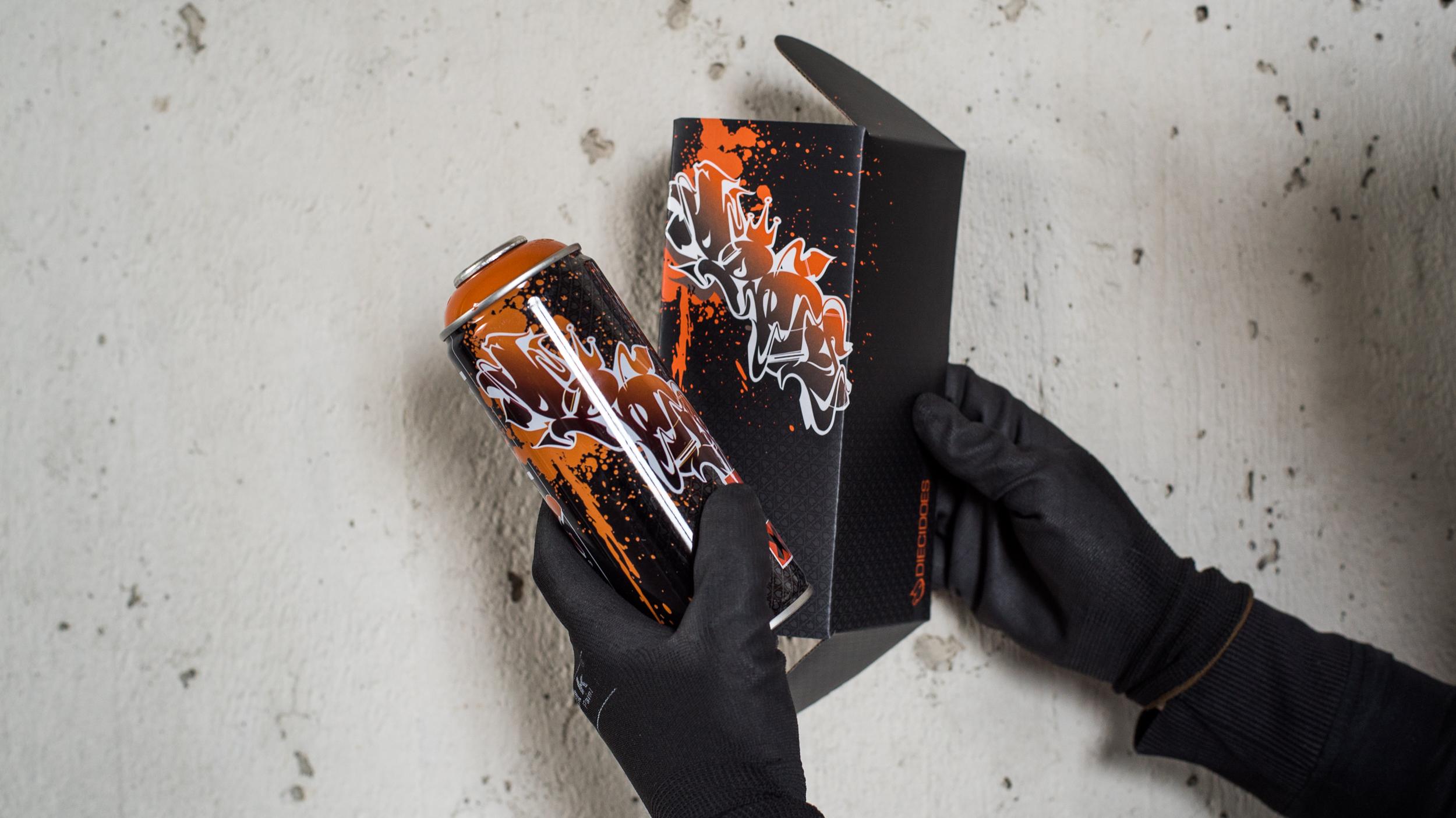 A work by Does - Spraycan dieci does box 3