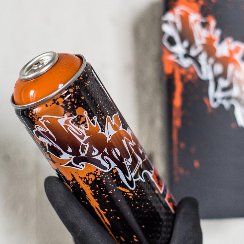 A work by Does - Spraycan dieci does