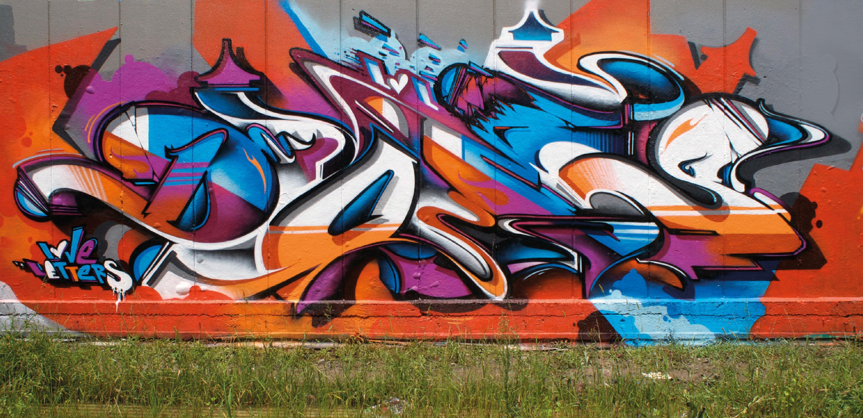 A work by Does - Byron bay australia mural
