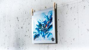 Dreamlike aluminum print  1