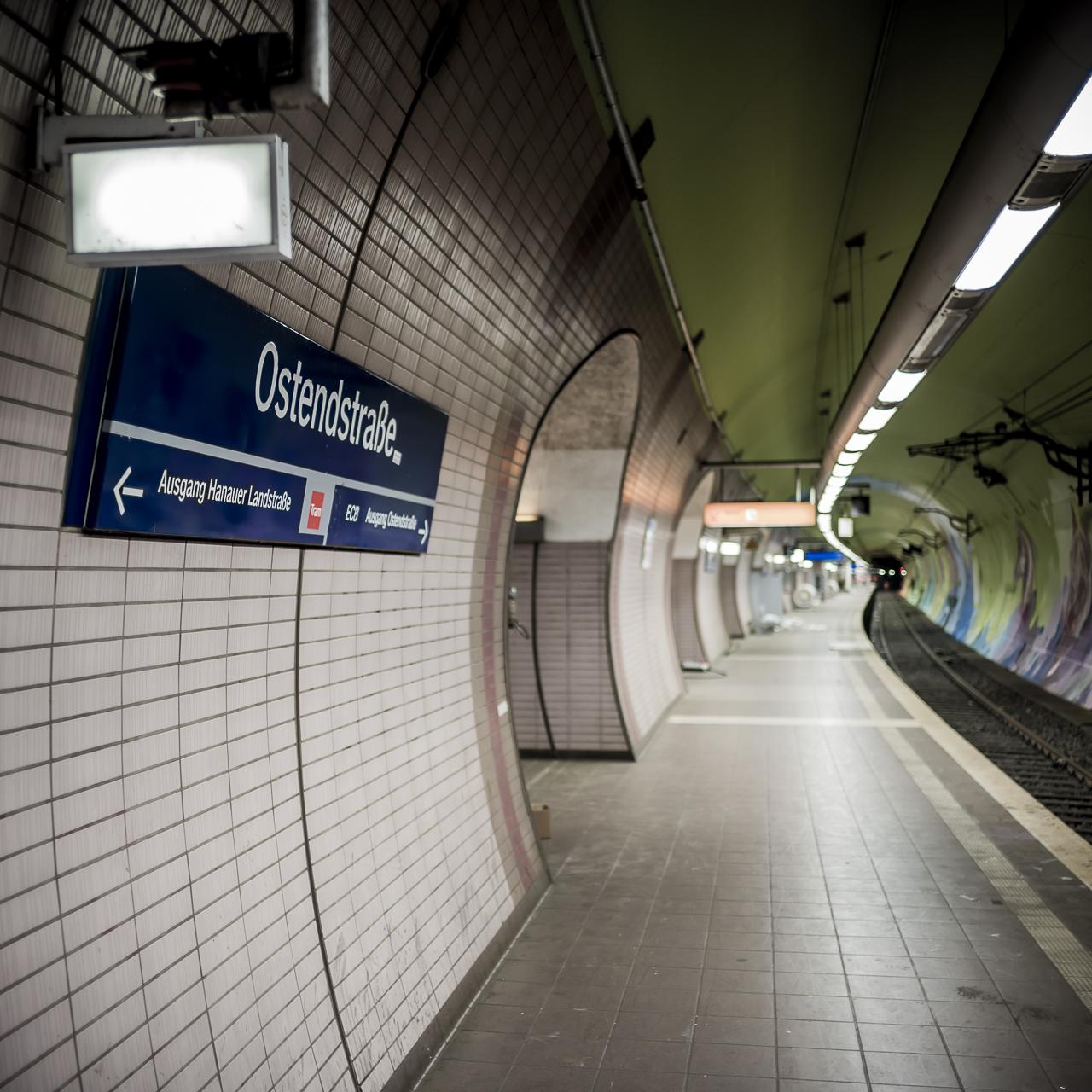 A work by Does - Ostendstrasse frankfurt germany tunnel rudi 1