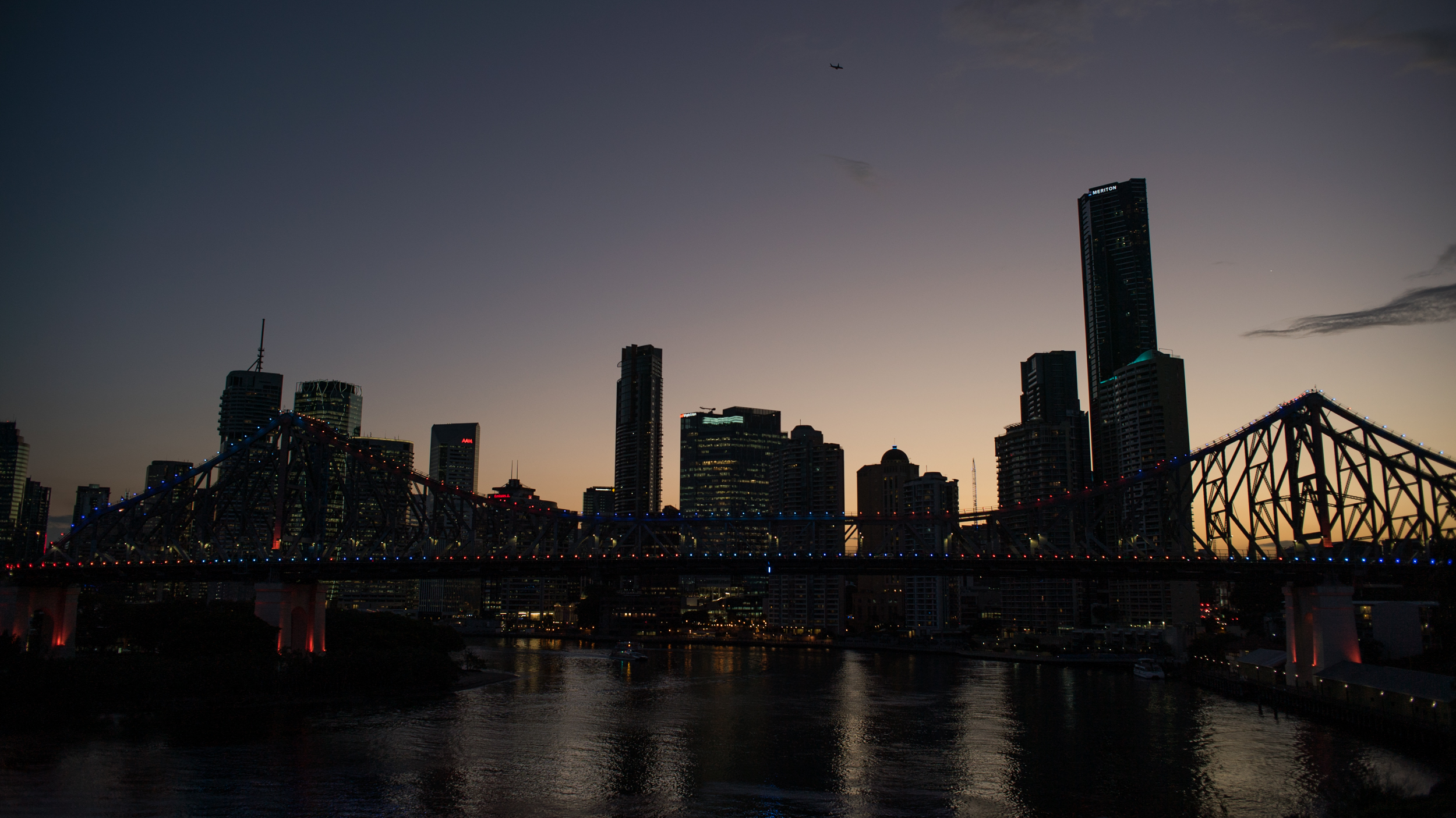 A work by Does - Brisbane australia skyline