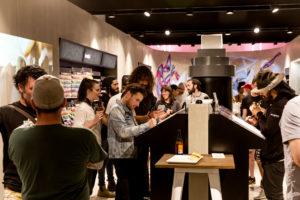 Opening night ironlak shop sydney 9