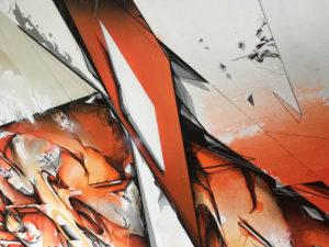 Detail canvas dieci 6