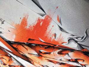 Detail canvas dieci 4