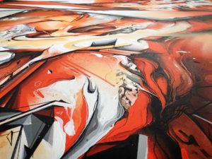 Detail canvas dieci 2