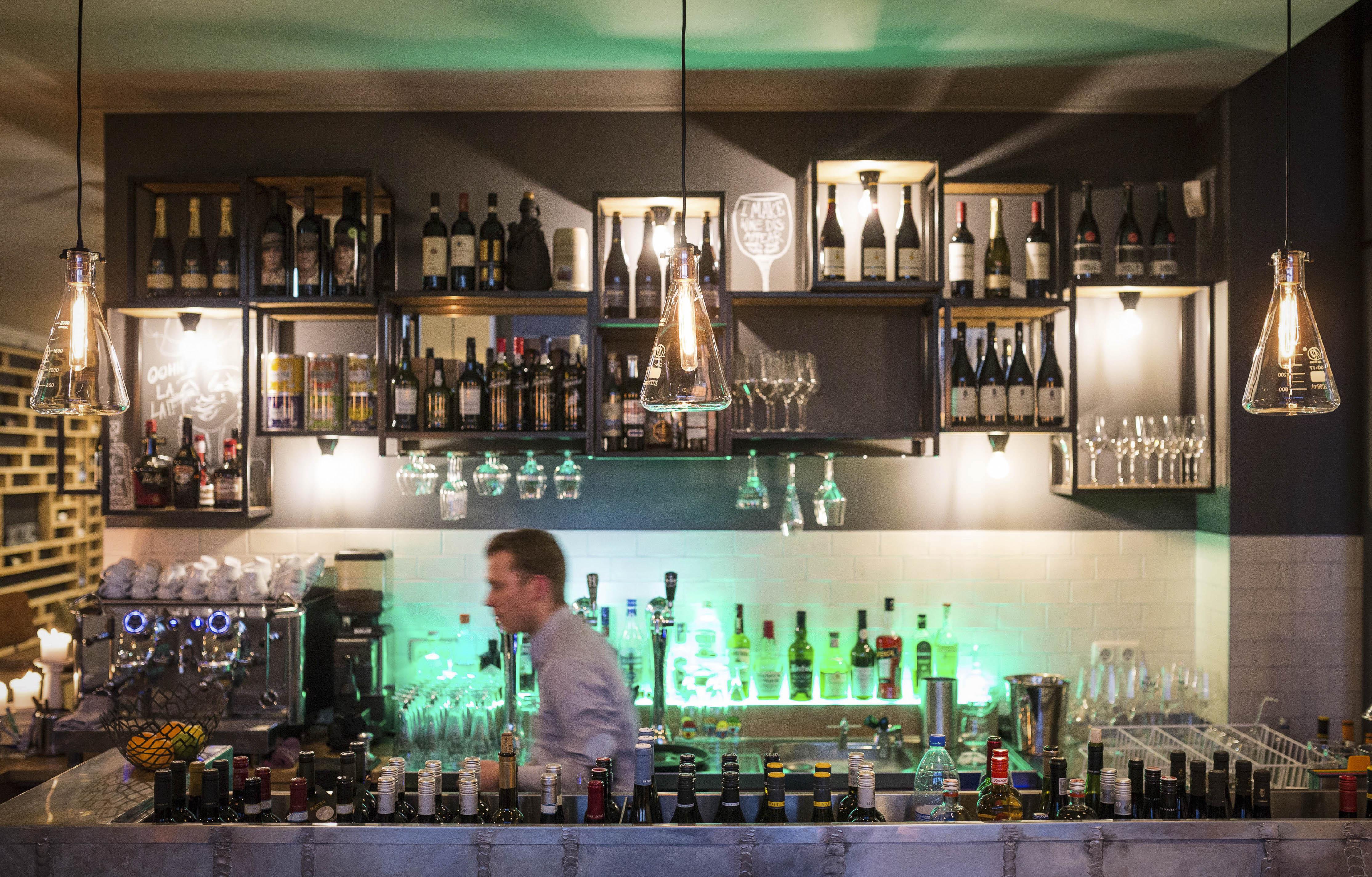 A work by Does - 13 Digital Does Zinc Restaurant_ Blickfänger 13-smaller