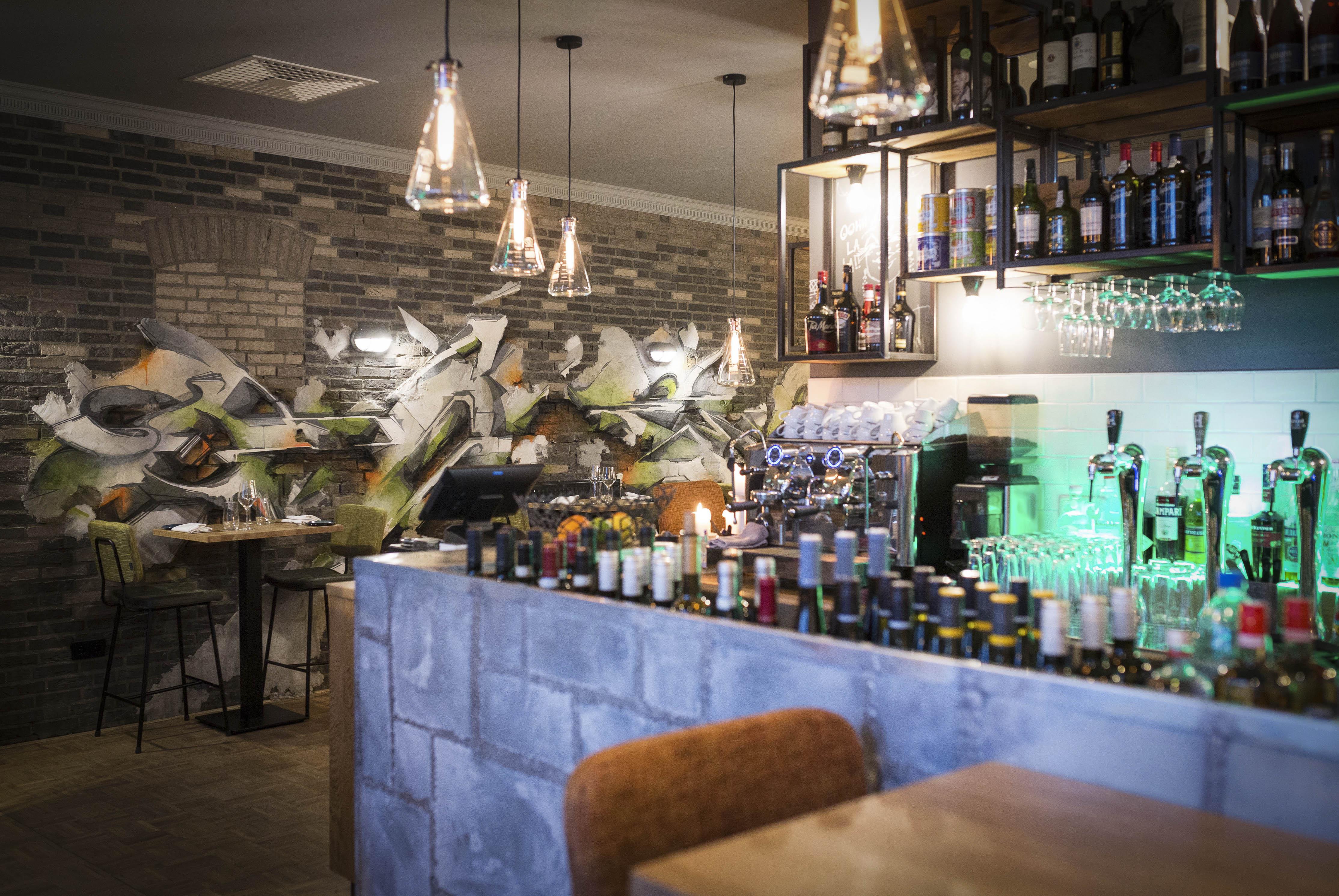 A work by Does - 3 Digital Does Zinc Restaurant_Blickfänger10-smaller