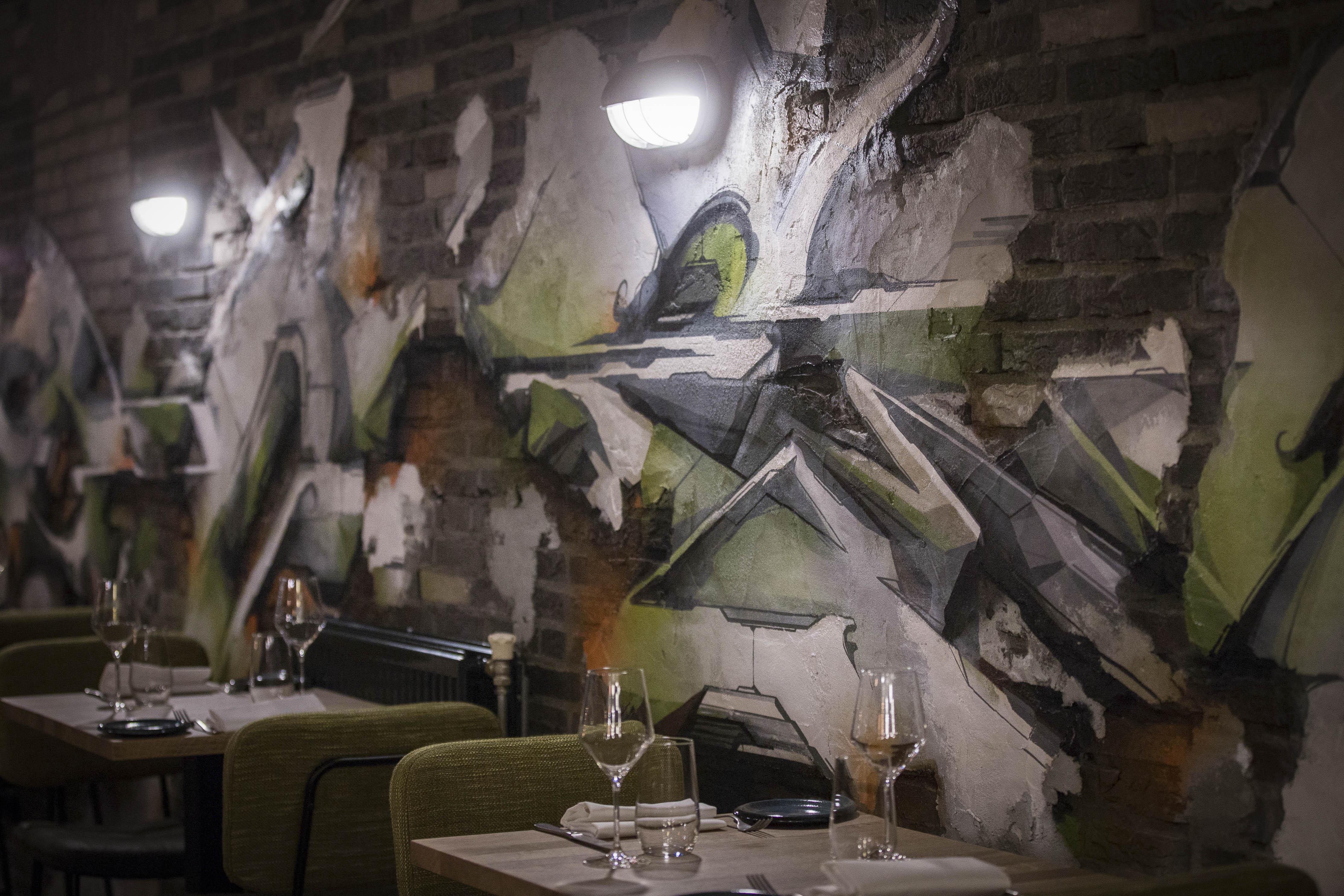 A work by Does - 8 Digital Does Zinc Restaurant_Blickfänger02-smaller