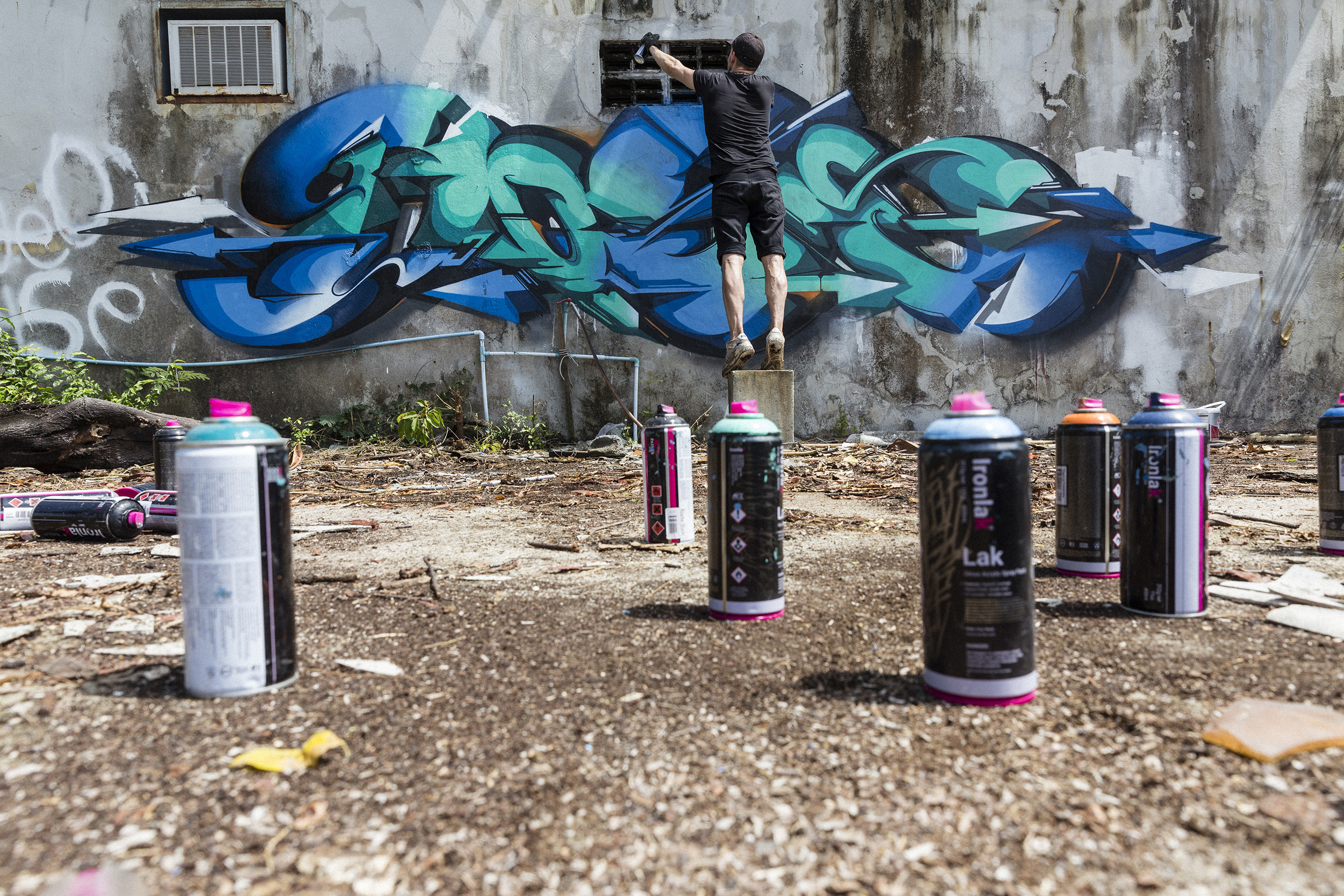 A work by Does - 201702-DOES-Ironlak-Thailand_LukeShirlaw_img_1370