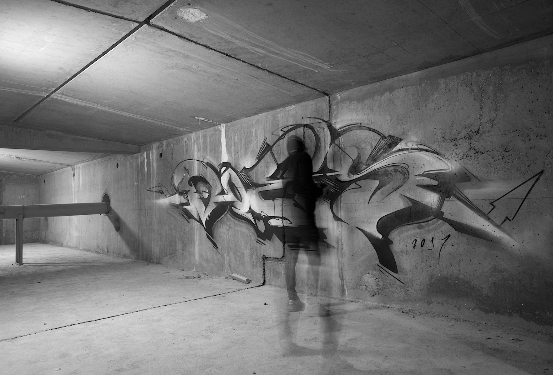 A work by Does - Paris france underground 5