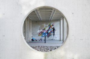Mural Lente heerlen the netherlands carbon cement