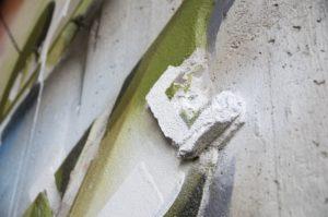 Mural Lente heerlen the netherlands carbon cement 3