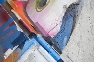Mural Lente heerlen the netherlands carbon cement 2