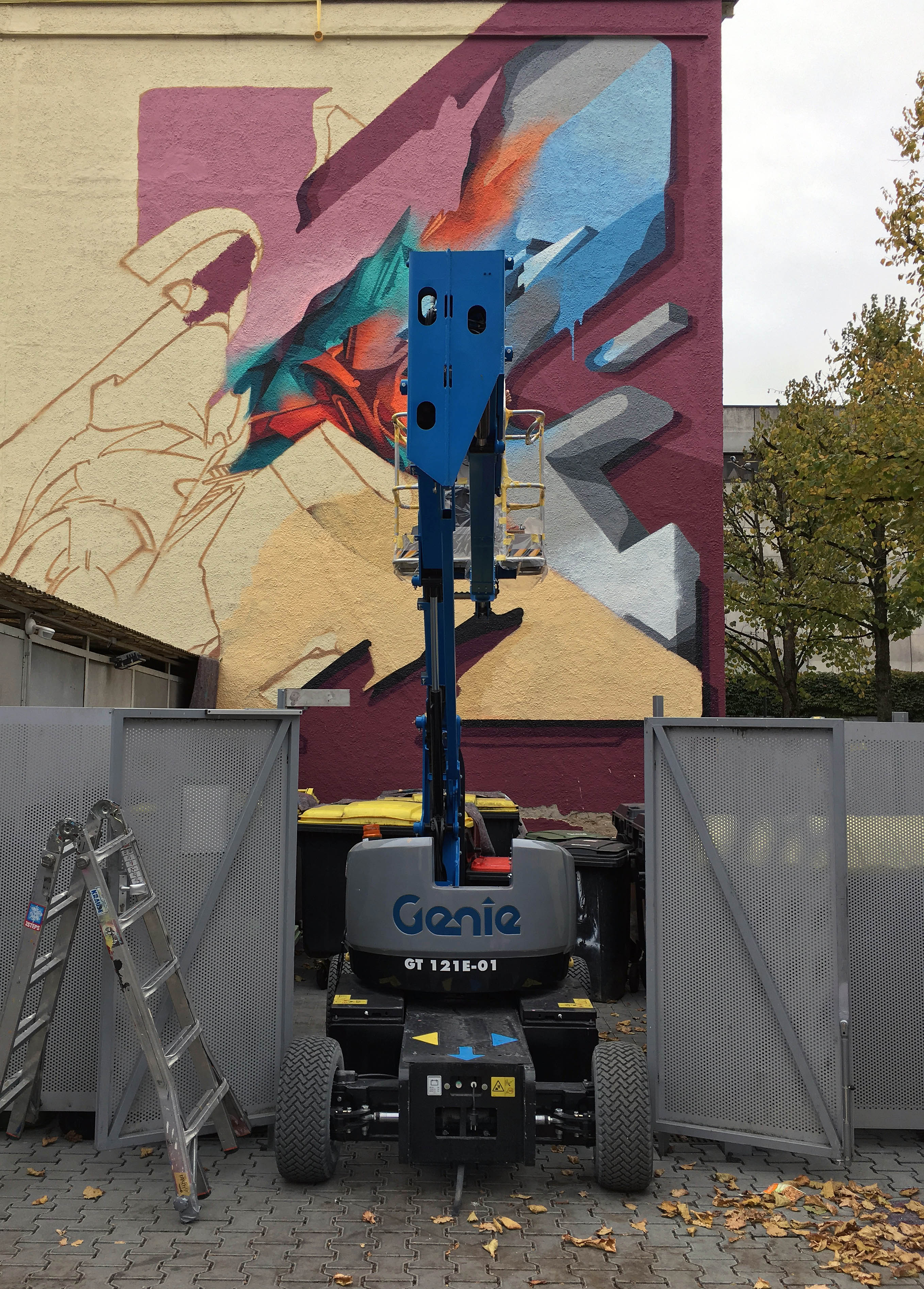 A work by Does - River tales giessen germany mural 12