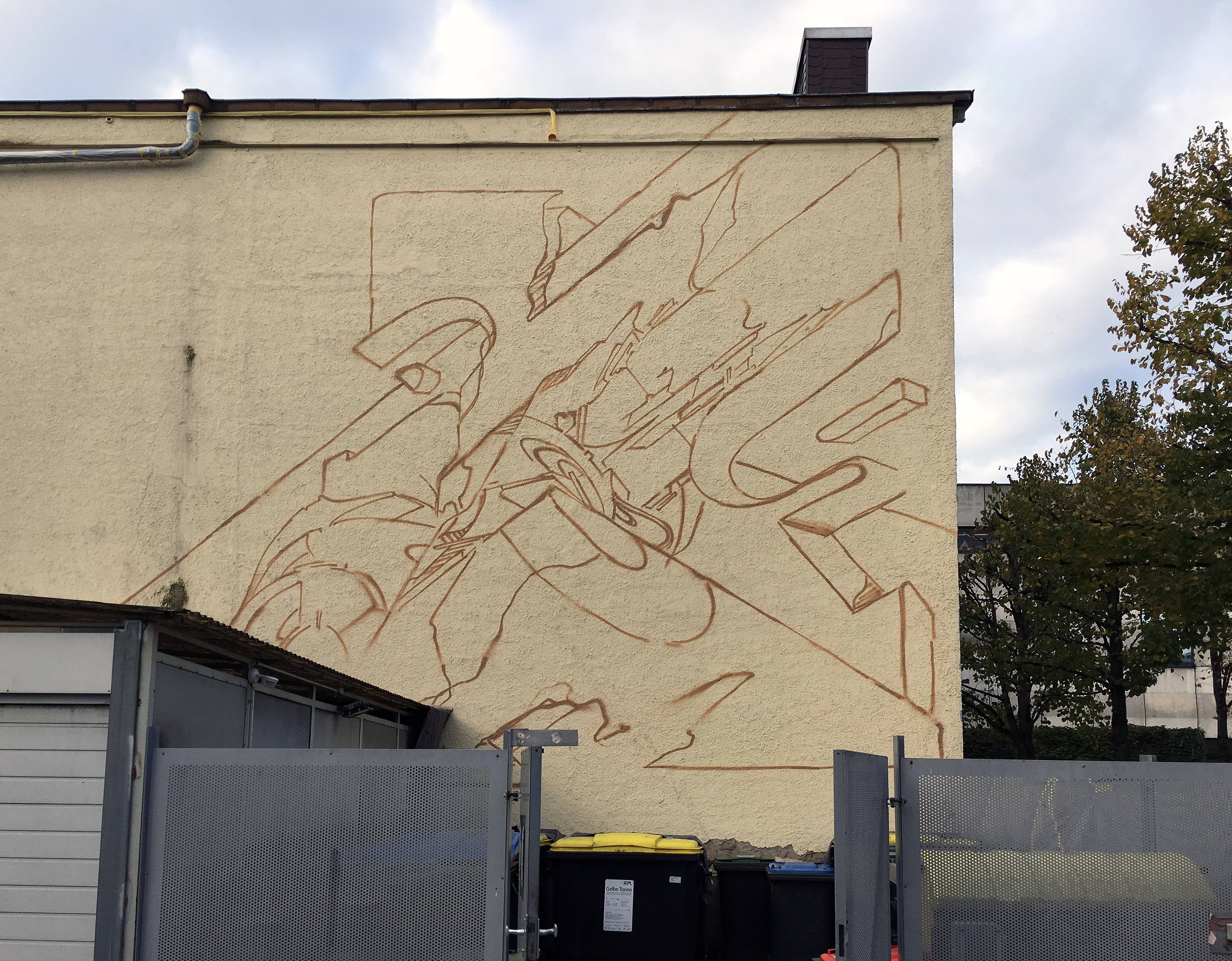 A work by Does - River tales giessen germany mural 7