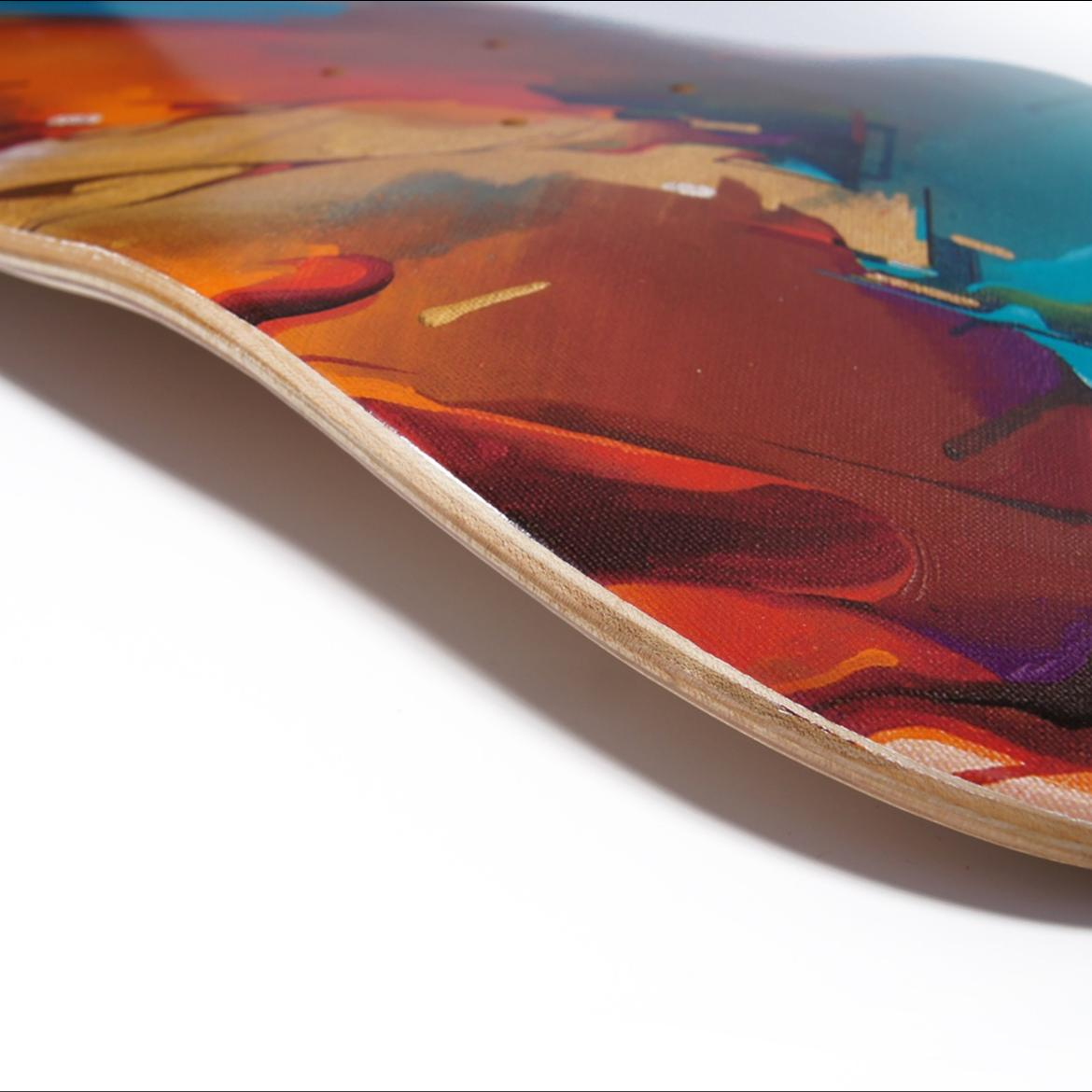 A work by Does - Skate deck 'Mood'_thumb