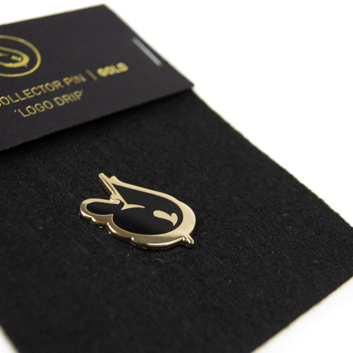 A work by Does - Pin 'Logo Drip' Gold_thumb