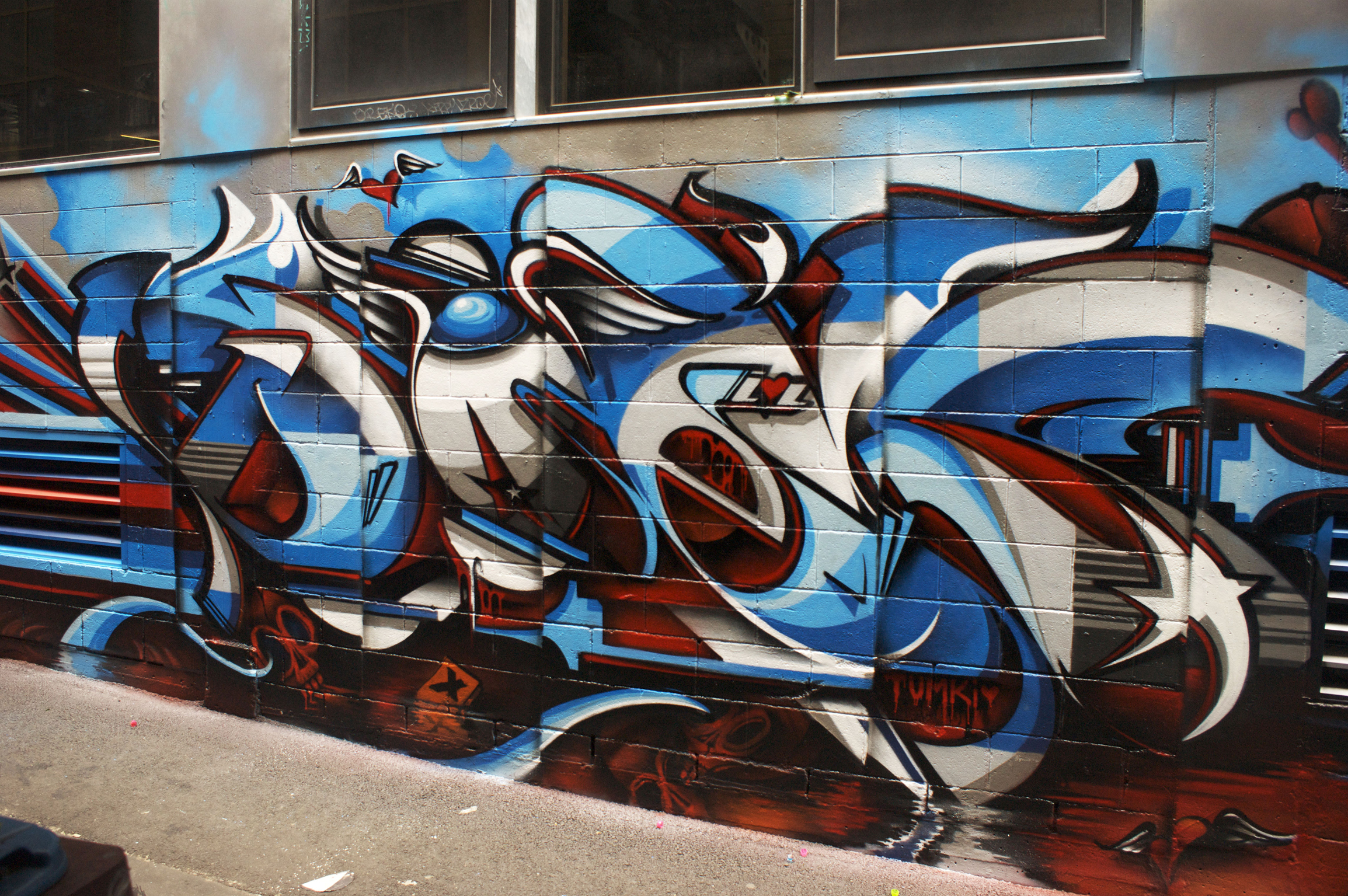 A work by Does - Melbourne